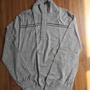 Long sleeve 100% cotton sweater